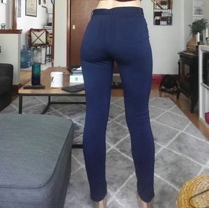 FLATTERING High Waisted Stretchy Navy Legging/Pant